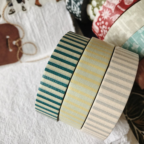 Stripe 13mm Masking Tape - 3 Colors