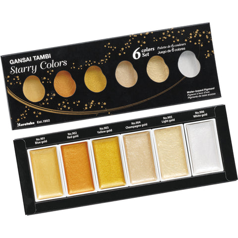Gansai Tambi Japanese Watercolors Set - Starry Colors