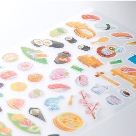 Sticker Marché - Sushi