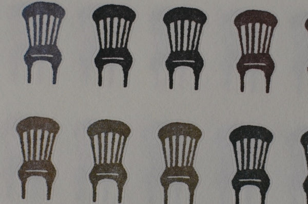 Chairs Small Stickers