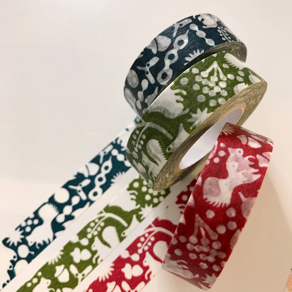 Squirrel Masking Tape - 3 colors