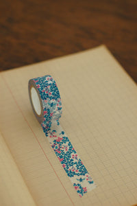 Wood Sorrel Masking Tape - Blue