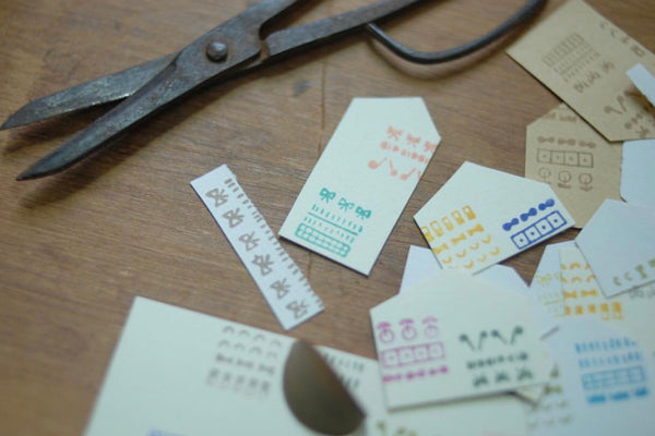 小島匠所 Dots & Shapes Rectangle Stamps Set