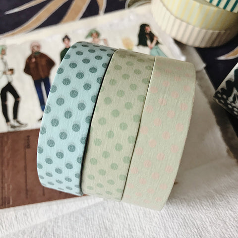 Dots 13mm Masking Tape - 3 Colors