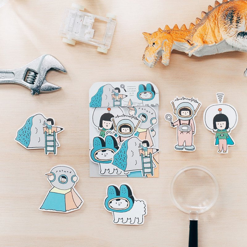 Explorer Waterproof Stickers