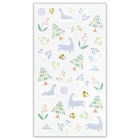 Yama-Life Washi Paper Sticker - Mountain Life Swamp
