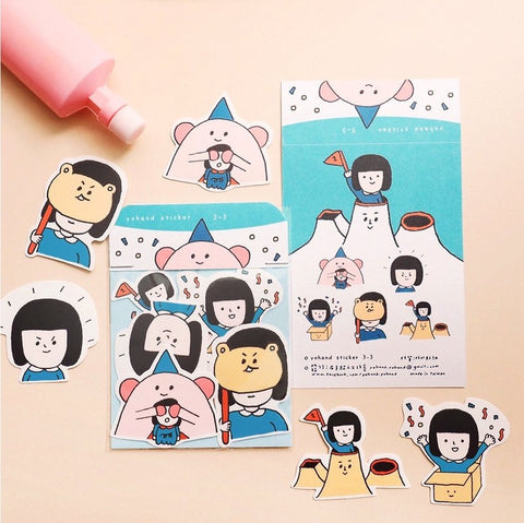 Hide & Seek Waterproof Stickers