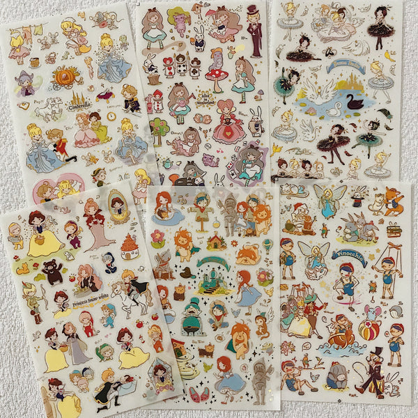 Pinocchio Stickers