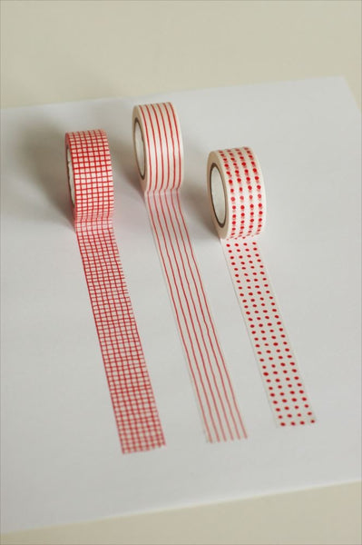 Mitsou Masking Tape - Red