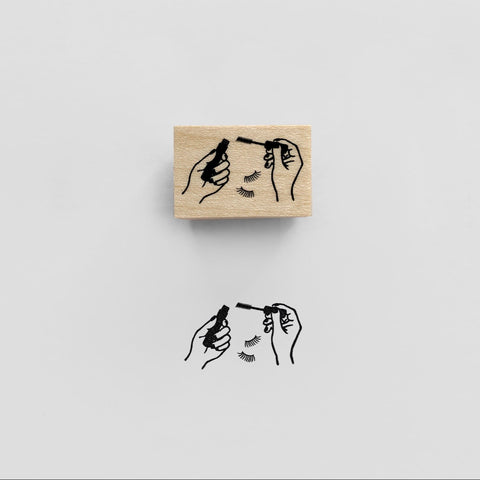MASCARA Rubber Stamp スタンプ