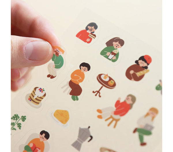 Mini Removable Sticker - Market