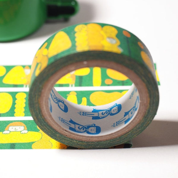 Yohand Hide & Seek Forrest Washi Tape
