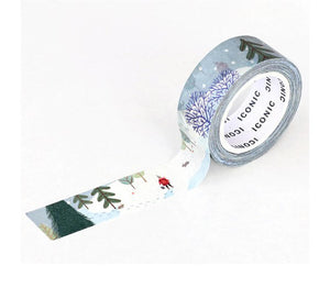 Winter Forest Washi Tape