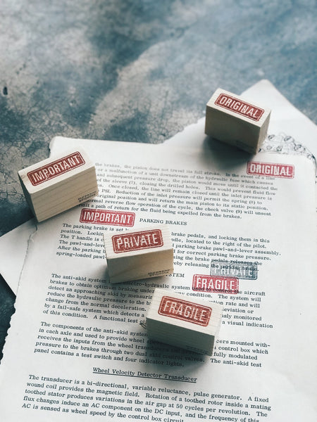 Office Rubber Stamp