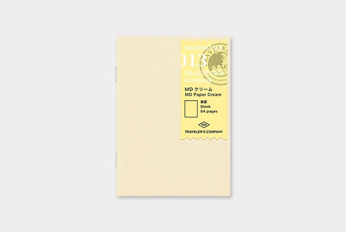 TRAVELER'S notebook Passport 013 (MD Paper Cream)