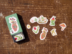 夜長堂 Match Box Stickers - Fairyland