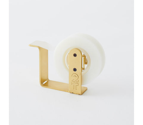 HANDMADE Brass Tape Dispenser Regular