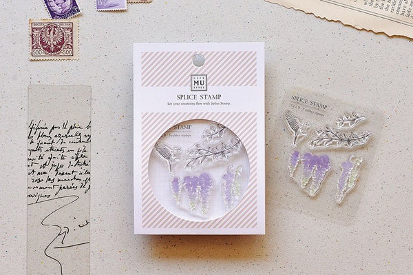 MU Splice Stamp No.9 Drifting Wisteria