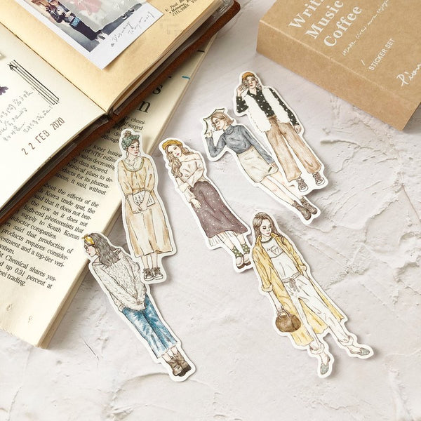 PION Girl Stickers SET (74PCS)