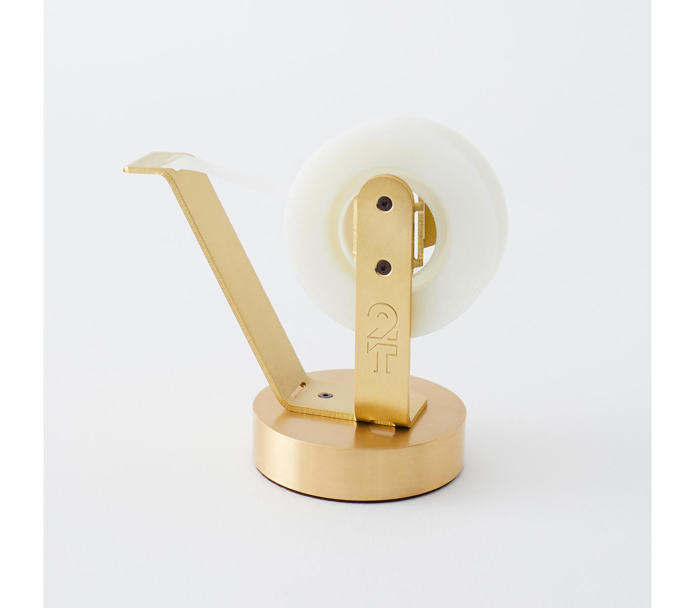 HANDMADE Brass Tape Dispenser Desk