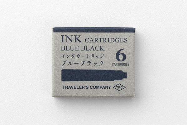 TRC FOUNTAIN PEN Ink Cartridges - Blue Black