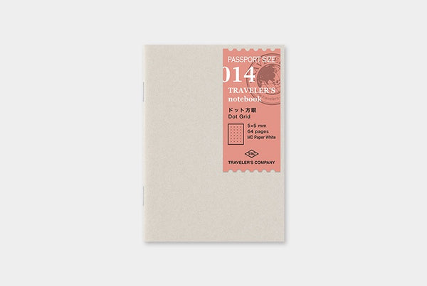 TRAVELER'S notebook Passport 014 (Dot Grid)