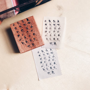 ASL / American Sign Language Rubber Stamp