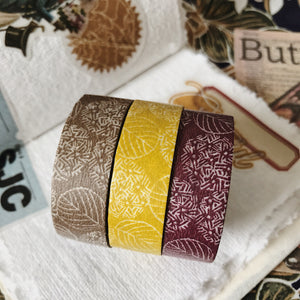 Hydrangea Masking Tape - 3 colors