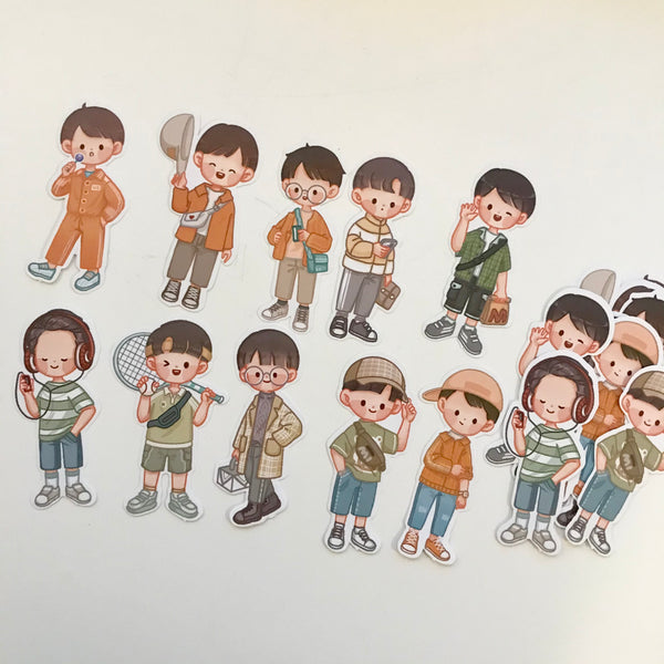 Telado Original Boys Sticker - Spring
