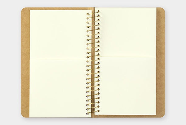 TRC SPIRAL RING NOTEBOOK (A6 Slim) Paper Pocket