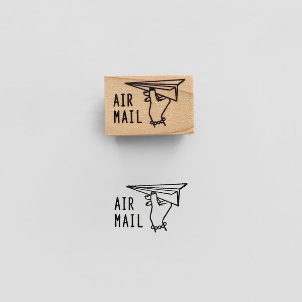 AIR MAIL Rubber Stamp スタンプ