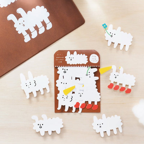 Dog Clouds Waterproof Stickers