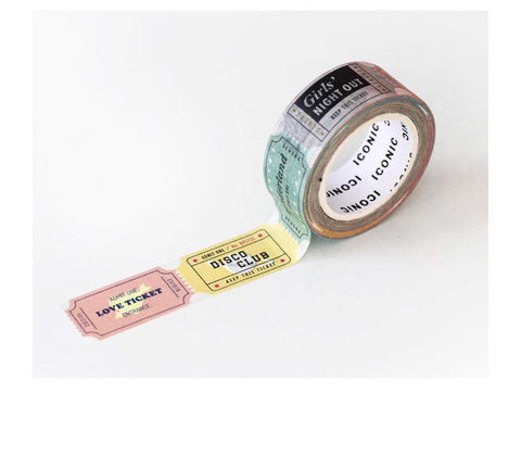 Fun Tickets Washi Tape