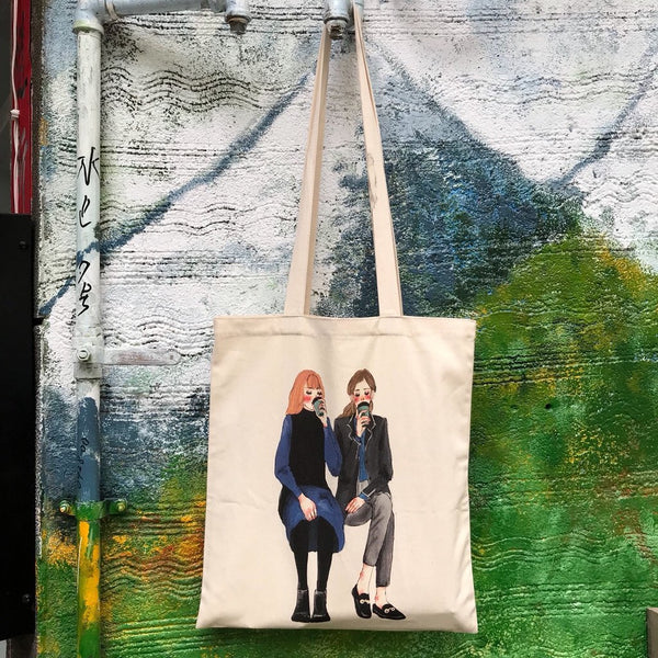 La Dolce Vita Coffee Date Tote Bag
