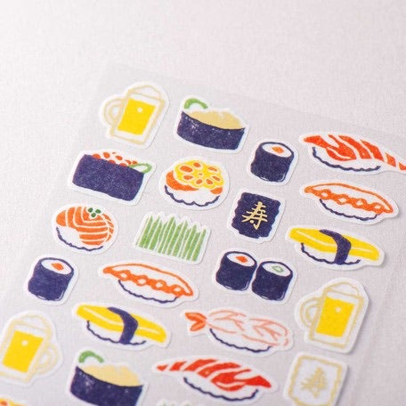 WANOWA Sticker Sheet - Sushi