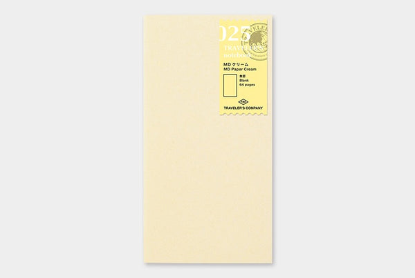 TRAVELER'S notebook Regular 025 (MD Paper Cream)