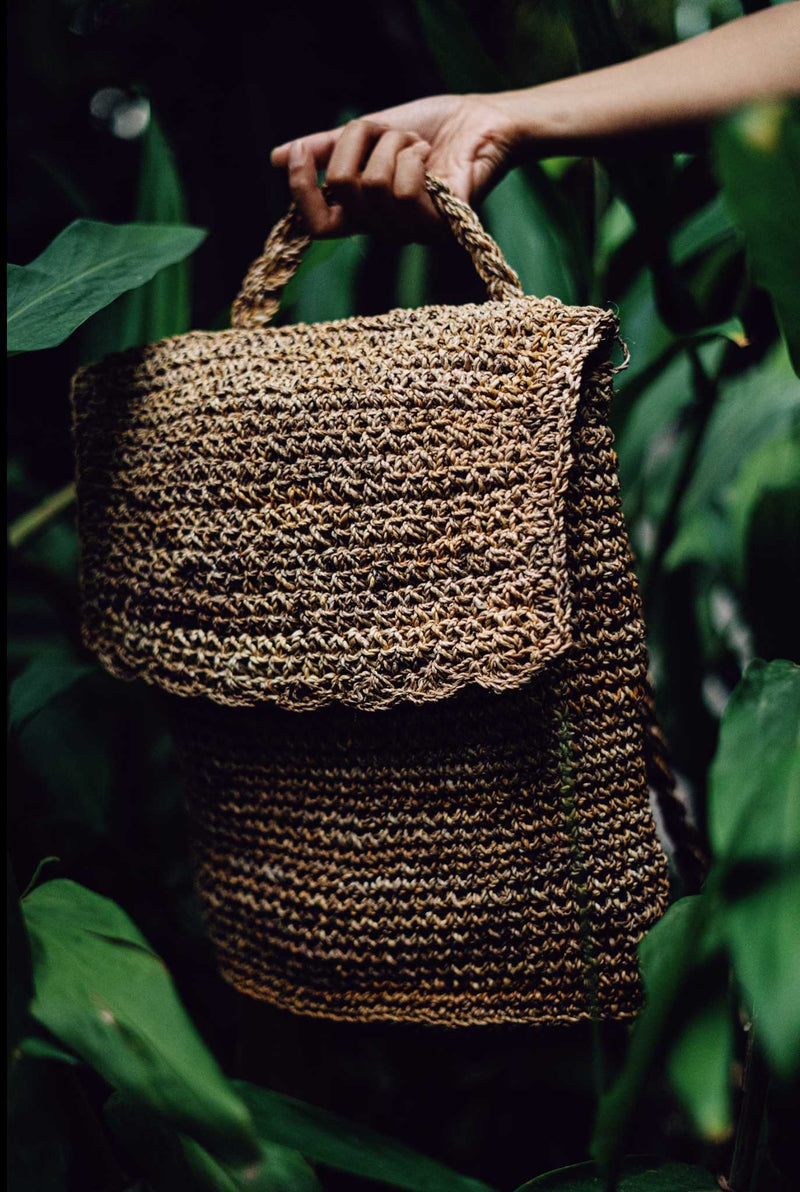 Handwoven Back Pack