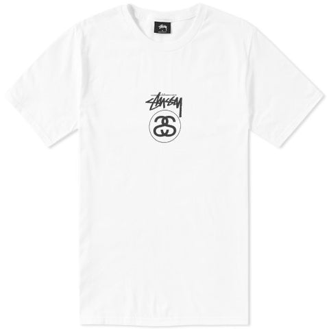 Stussy Stock Link Tee - White