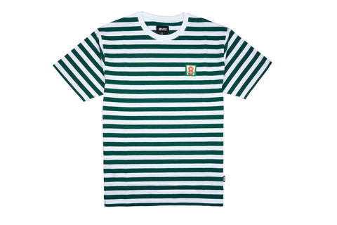 8Five2 8FIVETWO S/S Tee Green/White