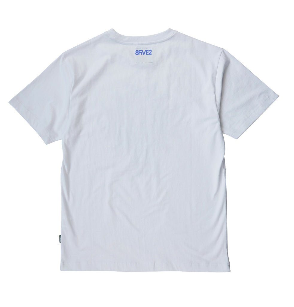 8FIVE2SHOP D-Town Tee White
