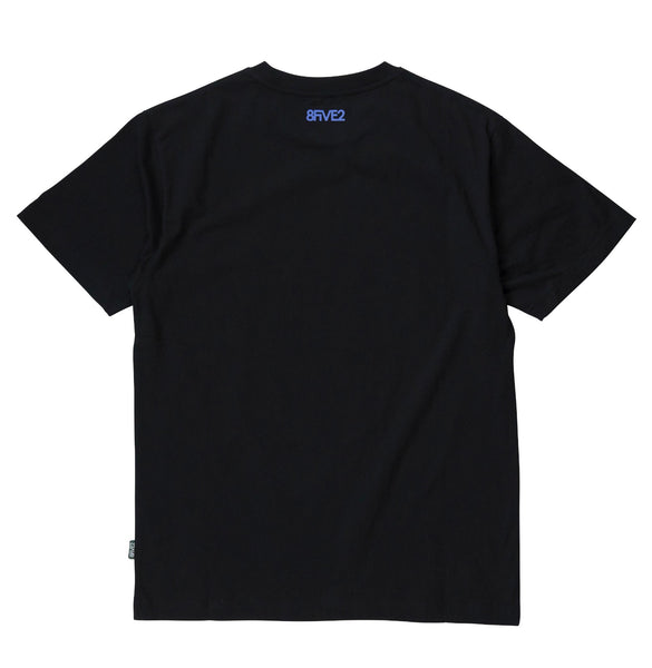8FIVE2SHOP D-Town Tee Black