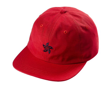 85IVE2 City Emblem A Cap Flat bill - Red