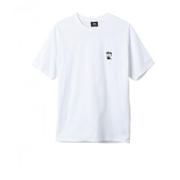 Stussy Stock Crown Tee - White