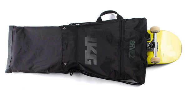8FIVE2 Flow Folded Skateboard Bag Black Ripstop