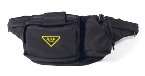 8FIVE2 RAD Waist Bag Black Nylon