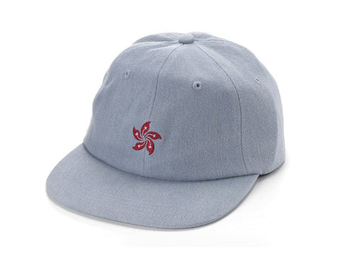 85IVE2 City Emblem A Cap Flat bill - Denim