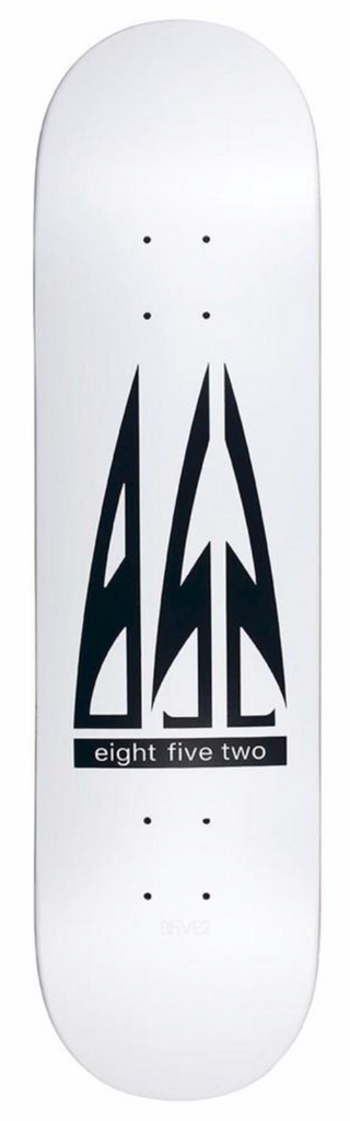 8FIVE2 Airlines Deck White 8""