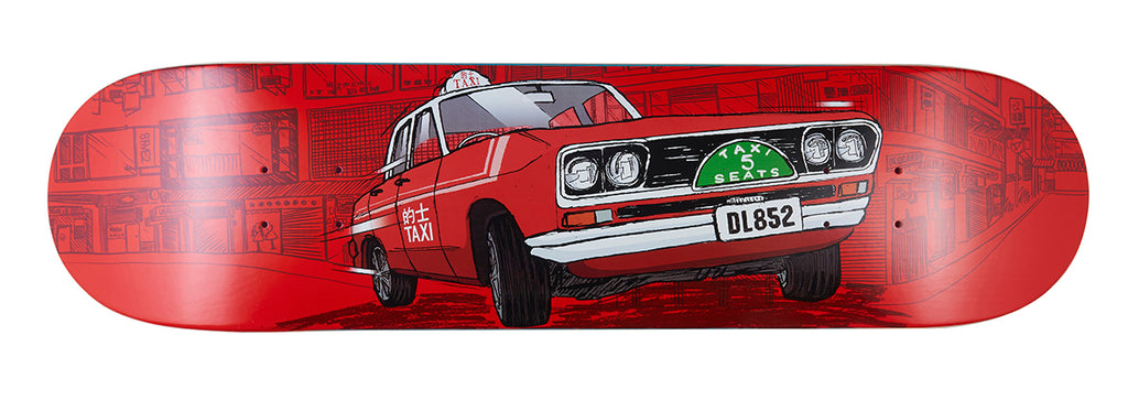 8FIVE2 HK Taxi Series artwork by J FC - Dan Leung Pro Model RED