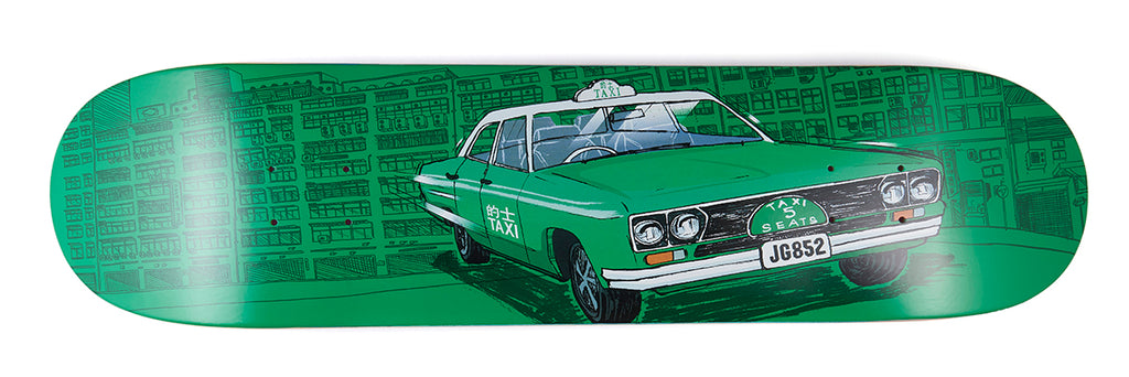 8FIVE2 HK Taxi Series artwork by J FC - Jeff Gonzales Pro Model GREEN