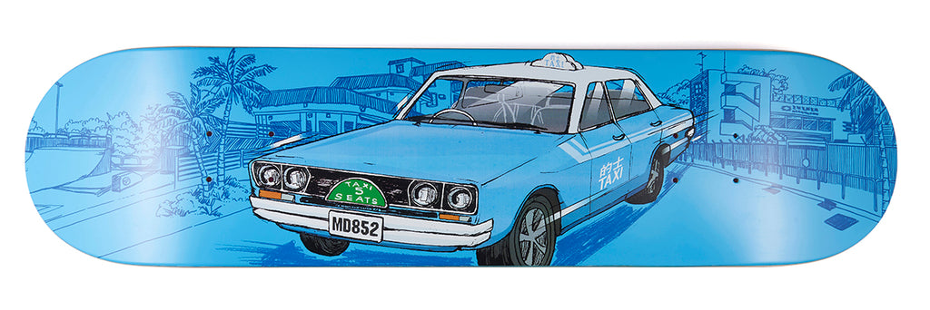 8FIVE2 HK Taxi Series artwork by J FC - Margie Didal Pro Model BLUE